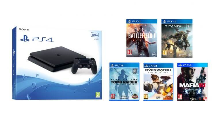 Ps4 pro console on rent